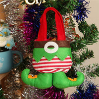 Wholesale Wholesale Sell Christmas Elves - Lot instock Elf Bags Christmas Candy Gift Bag Xmas wedding Party Supplies Top Selling Fast Shipping Christmas Decorations