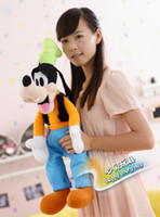 Wholesale-40CM Mickey Mouse Film Charakter Goofy Plüschtiere Puppen Drop Shipping Stuffed Goofy Tiere Spielzeug