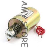 Wholesale Solenoid Electromagnet Actuator - 12V DC Tubular Linear Motion Electromagnet Solenoid Actuator w 18cm Cable