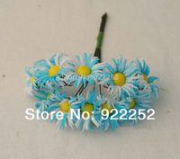 Wholesale Wholesale Gerbera Daisies For Hair - 2CM artificial cloth cheap Mini gerbera daisy flower bouquet,diy craft for wedding party decoration boutonniere&hair garland!