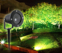 Wholesale Firefly Led Lamps - LED Outdoor Waterproof IP65 Laser Firefly Stage Lights Landscape Red Green Projector Christmas Garden Sky Star Lawn Lamps 110-240V