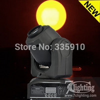 Gros-2Pcs / Lot 10W Gobo Moving Head Light, Dmx Mini Lyres spot 10W, coloré et Gobos projecteur Disco éclairage