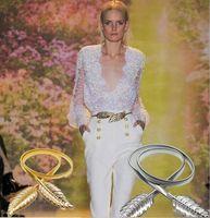 Wholesale Bridal Wedding Belts - 2016 Metal elastic chain waist Alloy leaves belts Bridal Accessory Satin Belt for Prom Evening Wedding Dresses CC181