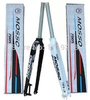 Wholesale Mosso Road Fork - Wholesale-Hot!! MOSSO M5 26 inch MTB ultra-light fork RockShox,mountain bike Road bicycle fork carbon fiber hard fork free shipping