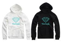 Wholesale Supplies Plus - 2016 4 Colors Diamond Supply Co Men Hip Hop Hoodies Sudaderas Hombre Men Sweatshirt Hooded Female Skateboard Pullover Moleton Masculino