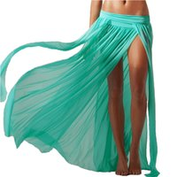 Wholesale Summer Wrap Skirts Wholesale - Wholesale-MIN.X Fashion Beach Cover Up Pareos Tunic Skirt Beach Wraps Summer Style Swimwear Swimsuit Bathing Suit Cover Ups, In Stock