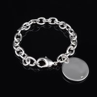 Wholesale Cheap Gift Set Free Shipping - Free Shipping with tracking number Top Sale 925 Silver Bracelet Europe licensing round Bracelet Silver Jewelry 20Pcs lot cheap 1772