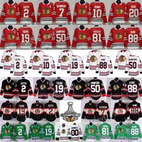 Wholesale Xl Hockey Jersey Chicago - Chicago Blackhawks Jersey Hockey 2 Duncan Keith 19 Jonathan Toews 88 Patrick Kane Corey Crawford Patrick Sharp Brandon Saad Clark Griswold