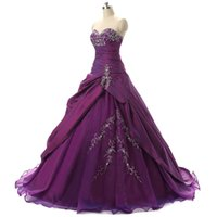 Vestiti economici Quinceanera viola 2017 con increspature in rilievo ricamato abiti da sera maschere Real Photo Vestido 15 Anos Sweet 16 Vestiti