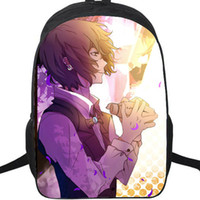 Wholesale cartoon school bag dog for sale - Group buy Dazai Osamu backpack Bungo stray dogs psionics power daypack Cartoon schoolbag Anime rucksack Sport school bag Outdoor day pack