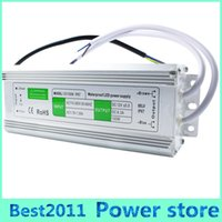 Wholesale Led Lamp Power Driver - New Arrival Original 100W AC110V-260V to DC12V 8.5A Waterproof IP67 LED Light Lamp Driver Outdoor Use Power Supply Transformer