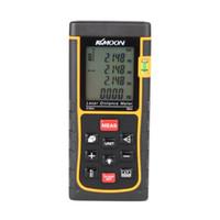 Wholesale Ranging Level - RZE-80 80m 262ft Digital Laser Distance Meter Range Finder Measure Distance Area Volume with Bubble Level Measure Measurer H11359