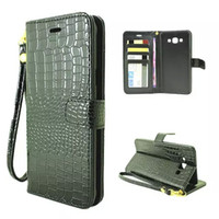 Wholesale Lanyard Pouch For Credit Cards - For Samsung Galaxy J5 J7 E5 E7 A7 A8 Core G360 Grand Prime G530 Croco Snake Leather Wallet Pouch Cases credit card stand Chain Lanyard cover