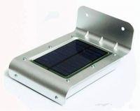 Wholesale Led Outdoor 3pcs - LED solar Lamps  16 LED LEDS Solar Human Body Sensor Lamp Outdoor inside Light for wholesale landscape lighting 3PCS lot Free Shipping