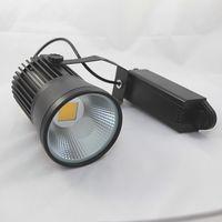 meilleures lampadaires achat en gros de-8pcs / lot 15W Suivi LED Lumière COB Led Voie Lumière AC85-265V Spot Applique Murale Spot Lumière De Haute Qualité Meilleur Prix