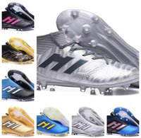 Wholesale Magnetic Cream - Ace 17.1 Magnetic Control FG Soccer Shoes 17.1 Outdoor Football Shoes ACE 17.3 Primemesh Soccer Boots Outdoor Football Cleats
