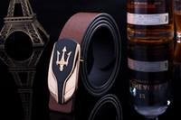 Wholesale gold metal belts for women - New Quality luxury Belts mens women cow leather belt brand designer Belts For Men Belts Gold Buckle