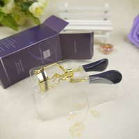 Wholesale Gold Eyelash Curler - The Picture Perfect Tarte Purple-Gold Eyelash Curler easy painless eyelash curl Free Shipping