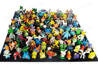 Wholesale Animal Stock - Stock sale NEW Quality PVC 50pcs lot The first generation toys Ash Pikachu Animal Toys Doll TOY 2-3CM Genuine Free shipping