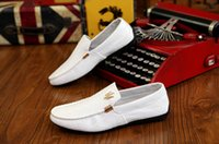 Wholesale white wedding almonds - 2018 new hot sell Maserati fashion knit business casual shoes breathable sports running shoes walking shoes white free shipping