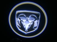 Wholesale Model Cars Led Lights - 1x Ghost Shadow Cree Led Car Door Logo Led Laser Welcome Project For Fang Model DODGE #3