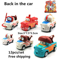 Wholesale Cartoon Pull Back Car - Spot Multicolor Cartoon Pixar Mini Pull back car Action Figure Model Toys Dolls Classic Puzzle Toys 12pcs set wholesale