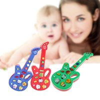 Wholesale Red Guitar Toys - Brand Child Baby Kids Music Sound Toy Foxy Electronic Guitar Rhyme Developmental toys free shipping