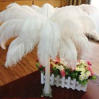 Wholesale Cheap White Ostrich Feathers - Cheap Ostrich Feathe Hot Sale Table Decoration Wedding Centerpiece Ostrich Feather Ostrich Plume Wedding Party Decoration Centerpiece