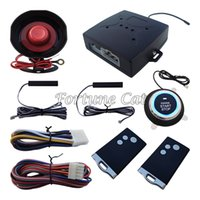 Wholesale passive keyless - PKE Passive Keyless Entry Car Alarm System Remote Engine Start Push Start Button Auto Lock Unlock