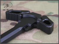 m16 airsoft toptan satış-Kelebek tarzı WA WA PTW M4 için Metal Cocking Kolu / M16 Serisi Airsoft GBB Siyah