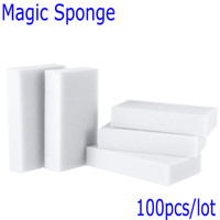 Wholesale Esponja Magica Para Limpeza Magic Sponge Cleaner Eraser Melamine Sponge for Cleaning Cooking Tools Magic Eraser