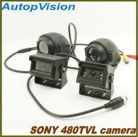 Wholesale Vision Buses - 10 IR LED super night vision SONY 480TVL car bus camera for 2CH 4CH DVR
