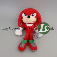 Wholesale Sonic Hedgehog Wholesale - Wholesale-Free Shipping 24cm Sonic The Hedgehog Plush Doll Sonic Plush Doll Toy Sonic The Hedgehog Toy Plush Doll Toy