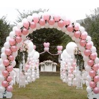 Latex Ballons Free Shipping 100pcs/Lot 10 Zoll Rosa Hochzeit Ballons Birthday Partydekorationen Kids und Party Dekoration bestellen$ 15 kein tr
