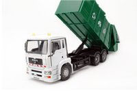 Wholesale Trolley Car Toys - Big Size Alloy Truck Model Toy,German Cleaning Trolley, Sanitation Car Model,Precision Simulation Vehicles, for Gift Collect ,Free Shipping