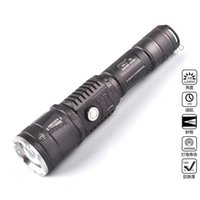 Wholesale Usb Emergency Battery Charger Flashlight - Super bright Outdoor power bank Intelligent USB 10w LED Rechargeable flashlights long-range Zoom supports the USB phone charger