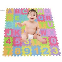 Wholesale Crawling Puzzle - 2014 baby crawling mat soft developing crawling rugs,baby play puzzle Letter play Mat Climb Blanket eva foam mat