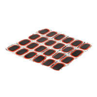 Wholesale Wholesale Bike Repair Patches - 24 Pieces 40 * 23mm Rubber Patch for Bike Bicycle Tire   Tyre Repair Tool