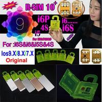 Wholesale Used Sprint - R-SIM 10+ R SIM 10plus RSIM 10+ Rsim10+ Unlock Card for iphone 6s 6 5S 5 6plus ios9.1 ios9.0 9.x 3G 4G CDMA SPRINT AU direct use no Rpatch
