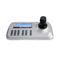 Wholesale Axis Ip Cameras - Security&Surveillance System Mini 3 Axis Dimension Joystick PTZ Keyboard Controller For IP Speed Dome camera Controller With RS485 Connector