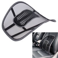 Wholesale Car Seat Cushion Back Support - Office Chair Car Seat Cover Sofa Cool Massage Cushion Lumbar Back Waist Brace Lumbar Cushion High Quality Seat Supports