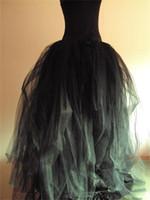 faldas tutu para adultos al por mayor-Venta de la fábrica de las mujeres busto faldas todos los colores de múltiples capas de longitud larga 2015 adultos falda de tul de tutú una línea más tamaño falda para mujeres envío gratis