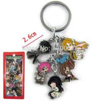 Wholesale Asuna Sword Metal - Cartoon Movie TV whosales 5pcs a lot Sword Art Online Asuna metal figures keychain