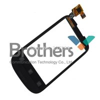 Wholesale Ideos Screen - Wholesale-Black touch screen digitizer for Huawei IDEOS X1 U8180 free shipping