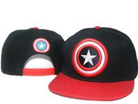 Wholesale Snapbacks Dc - Cheap men women adjustable Snapbacks Popular Adults Cartoon Hat Cap Marvel Dc Comics Snapback Hats Mens Womens Caps TOP!HOT! DDMY