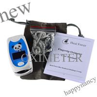 Wholesale Children Finger Pulse Oximeter - HQ HOT 15 pcs New Kids Use Child Pediatric Finger SpO2 PR Pulse Oxygen oximeter LCD CE a good gift