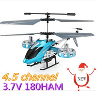 Hélicoptère Micro Rc Gratuit Pas Cher-Lovely Red Enfants Enfants 4CH RC Helicopter Micro Toy Aircraft AVATAR IR Remote Controllled Electronic, Free Shipping