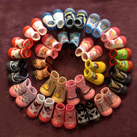 Wholesale Funny Baby Socks - Funny mepiq baby shoes rubber sole girls sock shoes 2016 hot anti skid kids shoes first walker toddler boys shoes sock skidders