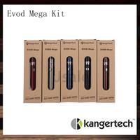 e cigarette originale kanger achat en gros de-Kanger Evod Kits Méga Kangertech Evod Kit Mega E-cigarette Avec Atomiseur 2.5ml Batterie 1900 mAh Mini Kit VS Subox Original