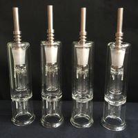 ingrosso boccaglio dell'olio-Raccoglitore di nettare Verticale Vaporizzatore Bocchino Stelo Raccoglitore di acqua Raccogliere con un bocchino di titanio da 14 mm